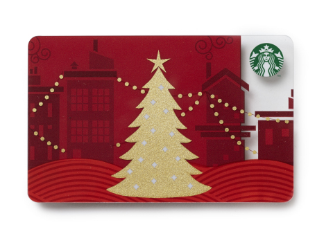 Starbucks Cards and eGifts can be purchased in a variety of designs and imagery. (Photo: Business Wi ...