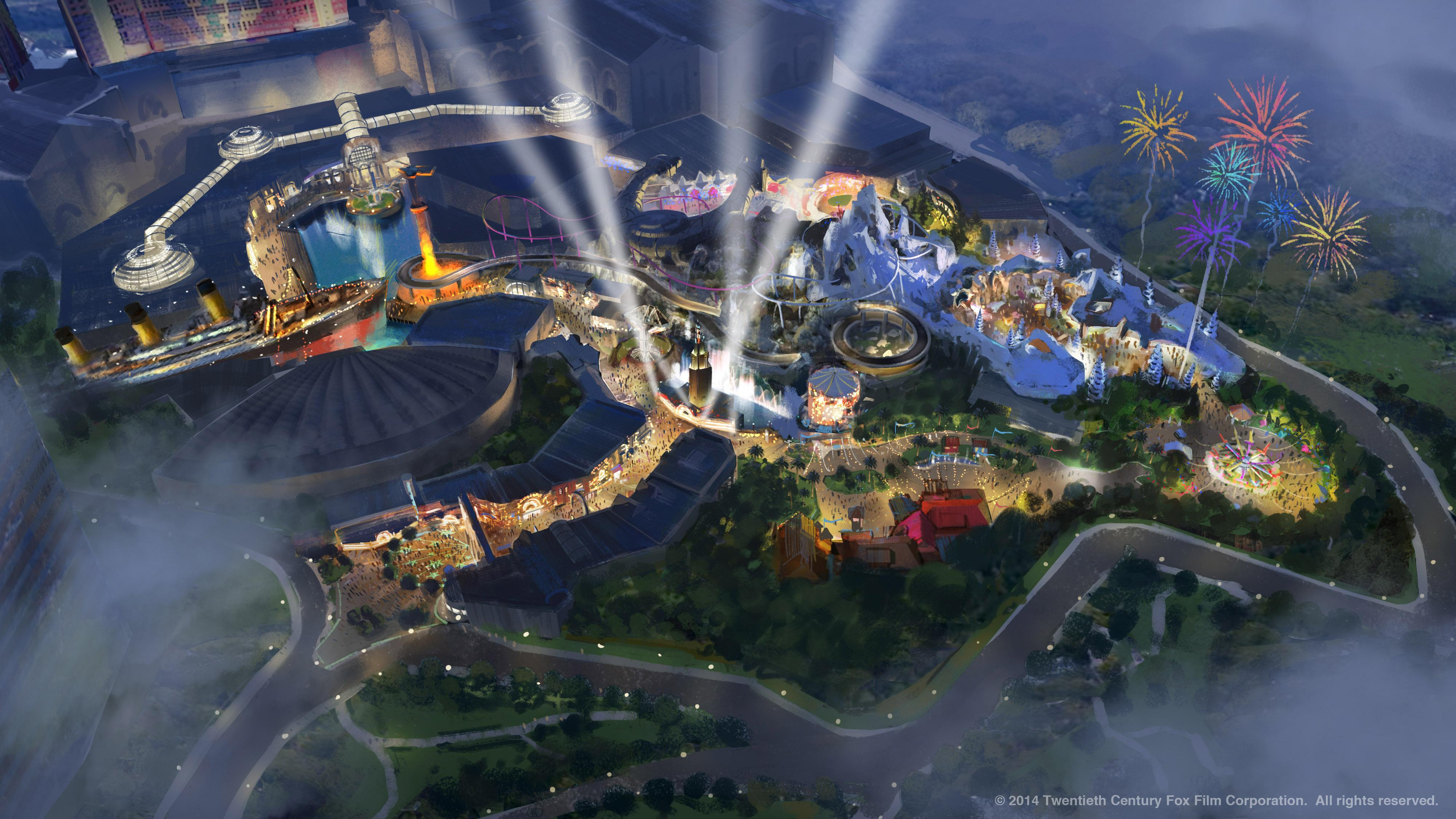 Twentieth Century Fox Consumer Products and Genting Malaysia Unveil Logo and Plans for the World's First Twentieth Century Fox Theme Park (Photo Credit: Twentieth Century Fox Consumer Products and Resorts World Genting)