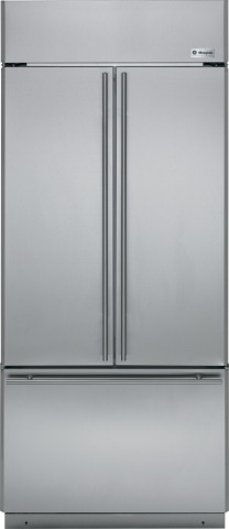 The GE Monogram® French door built-in refrigerators, built in Selmer, Tenn., are crafted to create a ...