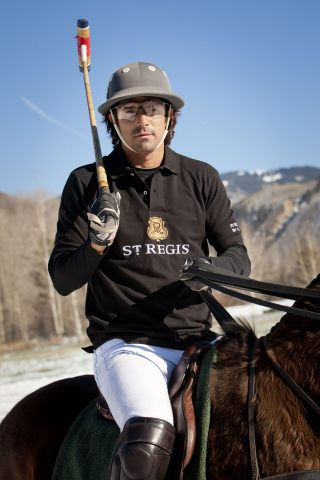 St. Regis Connoisseur Nacho Figueras to play in Piaget World Snow Polo Championship in Aspen. (Photo ...