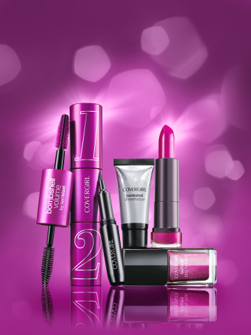 COVERGIRL Bombshell Collection (Photo: Business Wire)