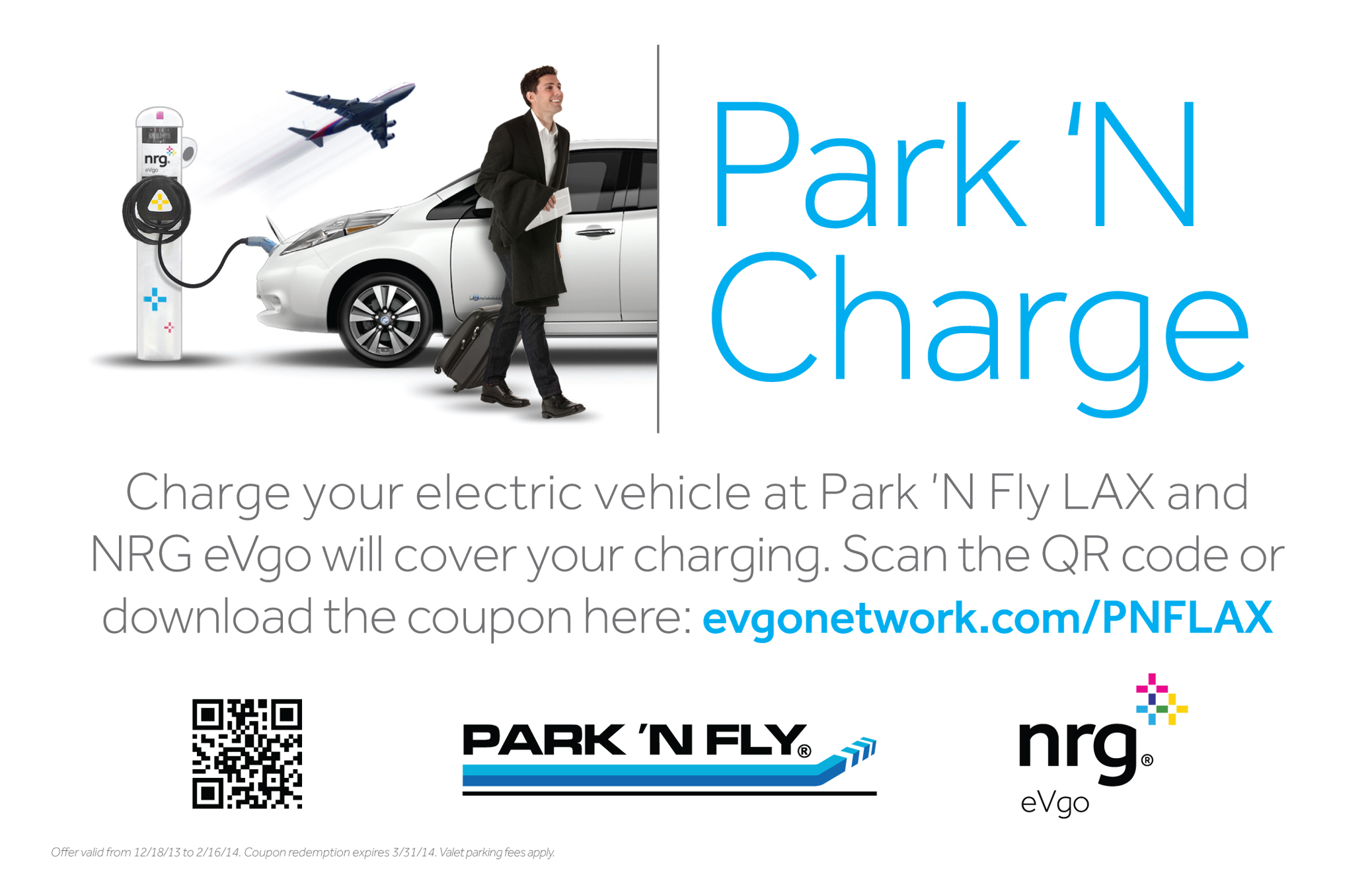 Nrg Evgo Offers Free Electric Car Charging At Park N Fly Lax This