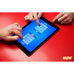 Ruzzle for iPad features simultaneous face to face competitive play on a single iPad for the ultimate social gaming experience (Photo: Business Wire)