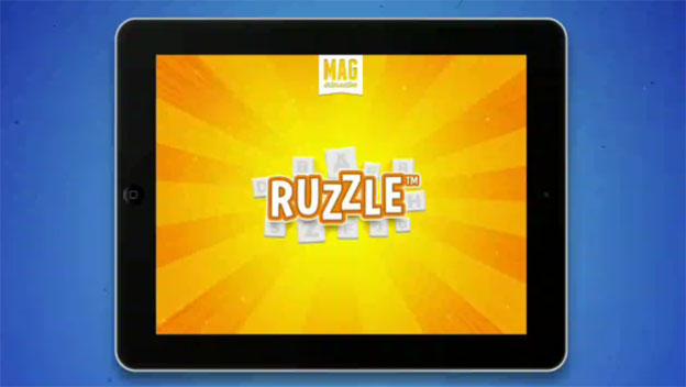 Swedish Developer MAG Interactive Celebrates 50 Million Downloads with iPad Version of Global Hit Ruzzle