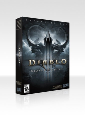 Diablo III: Reaper of Souls box art (Photo: Business Wire)