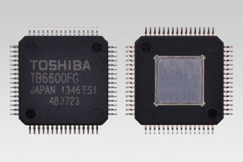 "Toshiba: ""TB6600FG"", a high current stepping motor driver with HQFP64 package (Photo: Business Wire)"