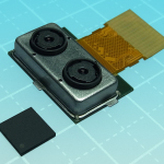 "Toshiba: Dual camera module ""TCM9518MD"" and image processing LSI (Photo: Business Wire)"