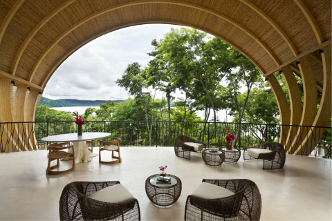 Situated on 28 oceanfront acres, Andaz Peninsula Papagayo offers sweeping views of the Bay of Culebr ...