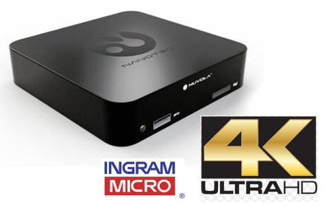NanoTech Entertainment Teams with Ingram Micro for U.S. Distribution of Nuvola NP-1 4K Ultra HD Streaming Video Player (Photo: Business Wire)