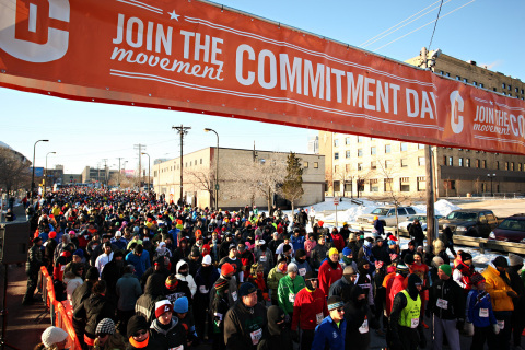 Tens of thousands will commit to a healthy, active life on January 1, 2014 in the second annual Comm ...