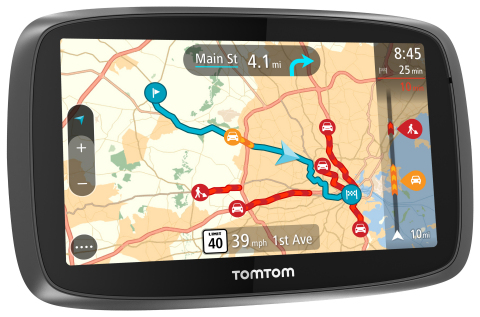 All new TomTom GO range redefines navigation (Graphic: Business Wire)