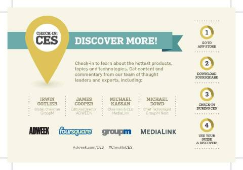 "How to participate in ""Check-In: CES"" (Graphic: Business Wire)"