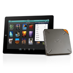LaCie Fuel with Apple iPad (Photo: Business Wire)