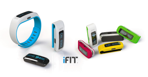 The new iFit Active wearable band expands iFit technology to iFit Everywhere. iFit is the leading fitness technology on internet-connected fitness equipment. iFit also includes mobile apps for running and cycling. (Photo: Business Wire)