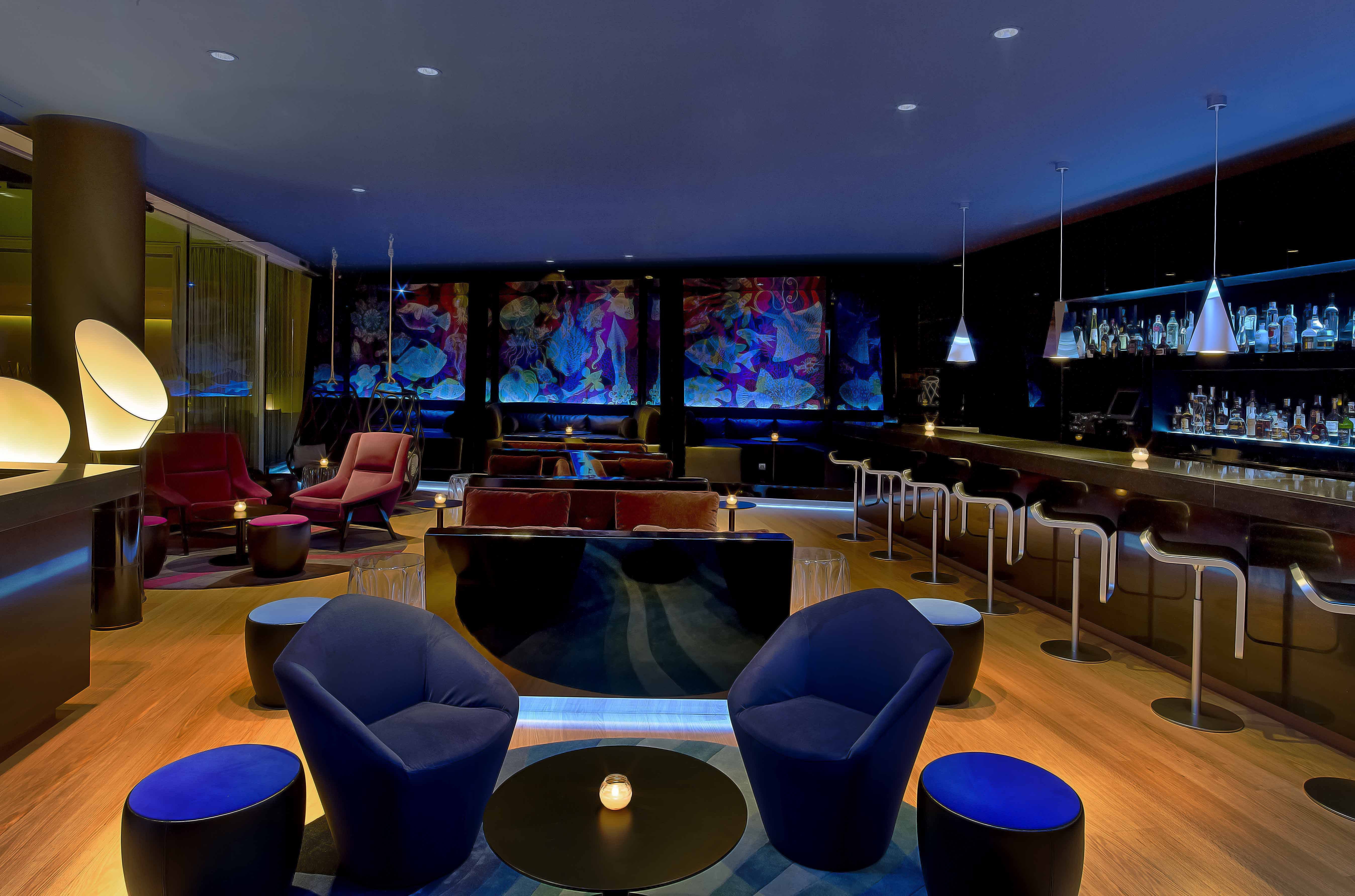 W barcelona unveils innovative design for new w lounge for W barcelona bar