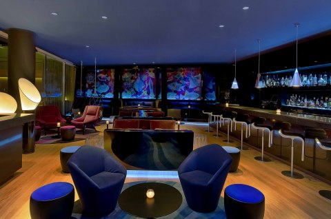 The Revamped W Lounge at W Hotel Barcelona. (Photo: Business Wire)