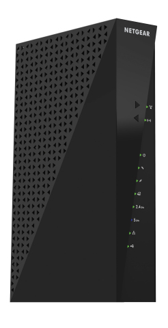 The NETGEAR AC1750 WiFi Cable Modem Router Gigabit Ethernet (C6300) (Photo: Business Wire)