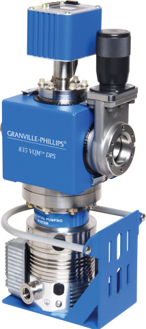 (Photo: Business Wire) Granville-Phillips' 835 VQM Differential Pump System including EXT turbomolec ...