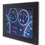 Positive Train Control (PTC), Human Machine Interface (HMI), Locomotive Cab Computer Displays, In-Vehicle Displays (Photo: Business Wire)
