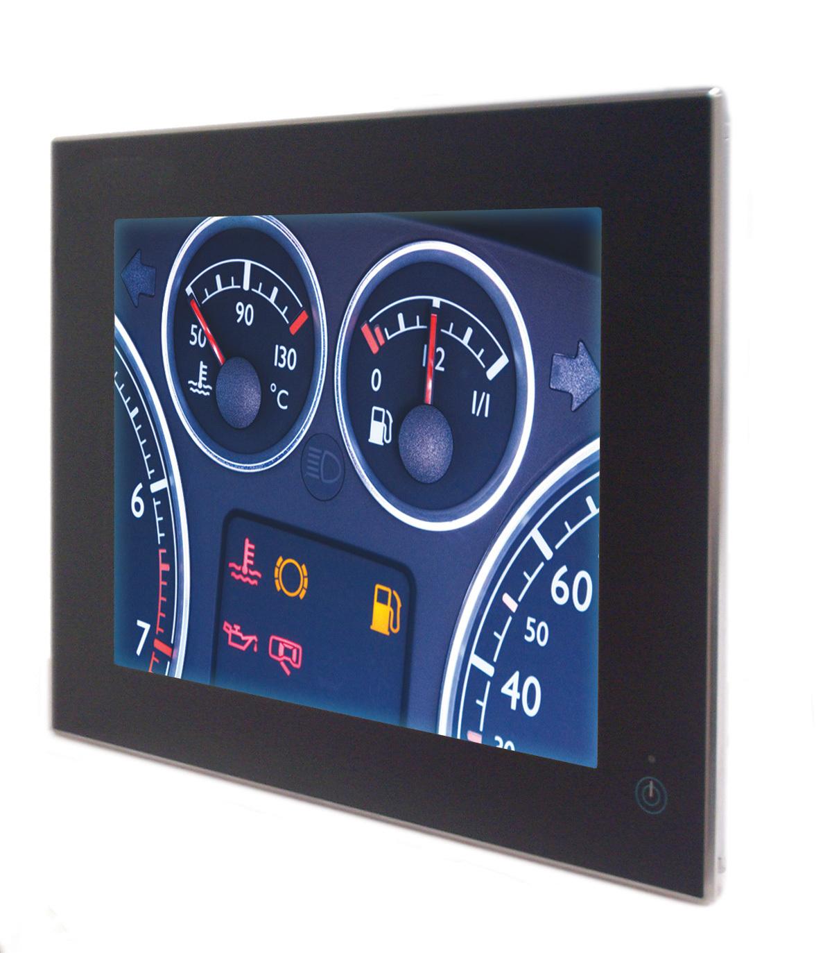 Positive Train Control (PTC), Human Machine Interface (HMI), Locomotive Cab Computer Displays, In-Vehicle Displays (Photo: Business Wire)