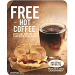 Buy Any BURGER KING(R) Breakfast Sandwich and Get a FREE Small Seattle's Best Coffee(R) (Photo: Business Wire)