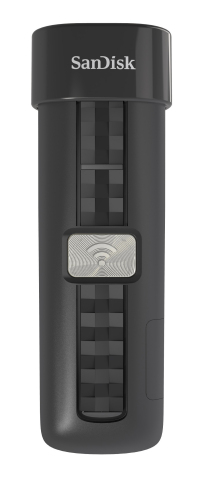 The 64GB SanDisk Connect(TM) Wireless Flash Drive offers users even more wireless memory expansion for their mobile devices. (Photo: Business Wire)