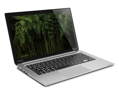 "Toshiba has updated its high-end KIRAbook with 4th generation Intel Core processors (""Haswell""), delivering faster performance, great graphics performance and a longer battery life rating of up to nine hours. (Photo: Business Wire)"