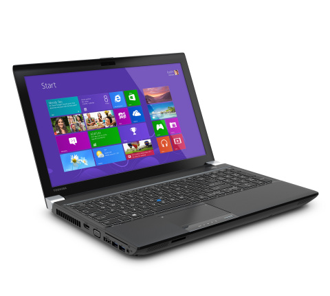 A portable powerhouse built for the most intensive visual and engineering tasks, the Tecra W50 mobile workstation features a 15.6-inch diagonal Ultra HD 4K display, plus unsurpassed durability and one of the thinnest, lightest designs in its class at less than six pounds. (Photo: Business Wire)
