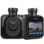 Garmin Dash Cam(TM) is a high-definition camera that continuously records a wide-angle view of the road while driving. (Photo: Business Wire)