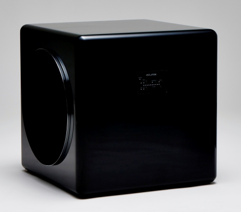 FUJITSU TEN exhibits ECLIPSE Home Audio Systems New Subwoofer TD725SWMK2 at 2014 International CES. (Photo: Business Wire)