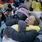 "A scene from the latest installment in the P&G Thank You Mom campaign. ""Pick Them Back Up"" is a short film that shows an athlete's journey to achieve their dreams and the important role moms play along the way. (Photo: Business Wire)"