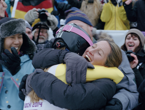 """A scene from the latest installment in the P&G Thank You Mom campaign. """"Pick Them Back Up"""" is a short film that shows an athlete's journey to achieve their dreams and the important role moms play along the way. (Photo: Business Wire)"""