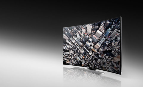 Samsung U9000 Series Curved UHD TVs provides the ultimate immersive viewing experience thanks to its ...