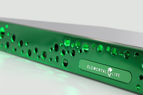 Elemental's software-based 4K HEVC video processing is showcased in multiple demos at CES this week. The company performed the world's first real-time 4Kp60 HEVC video encoding and delivery in late 2013. (Photo: Business Wire)