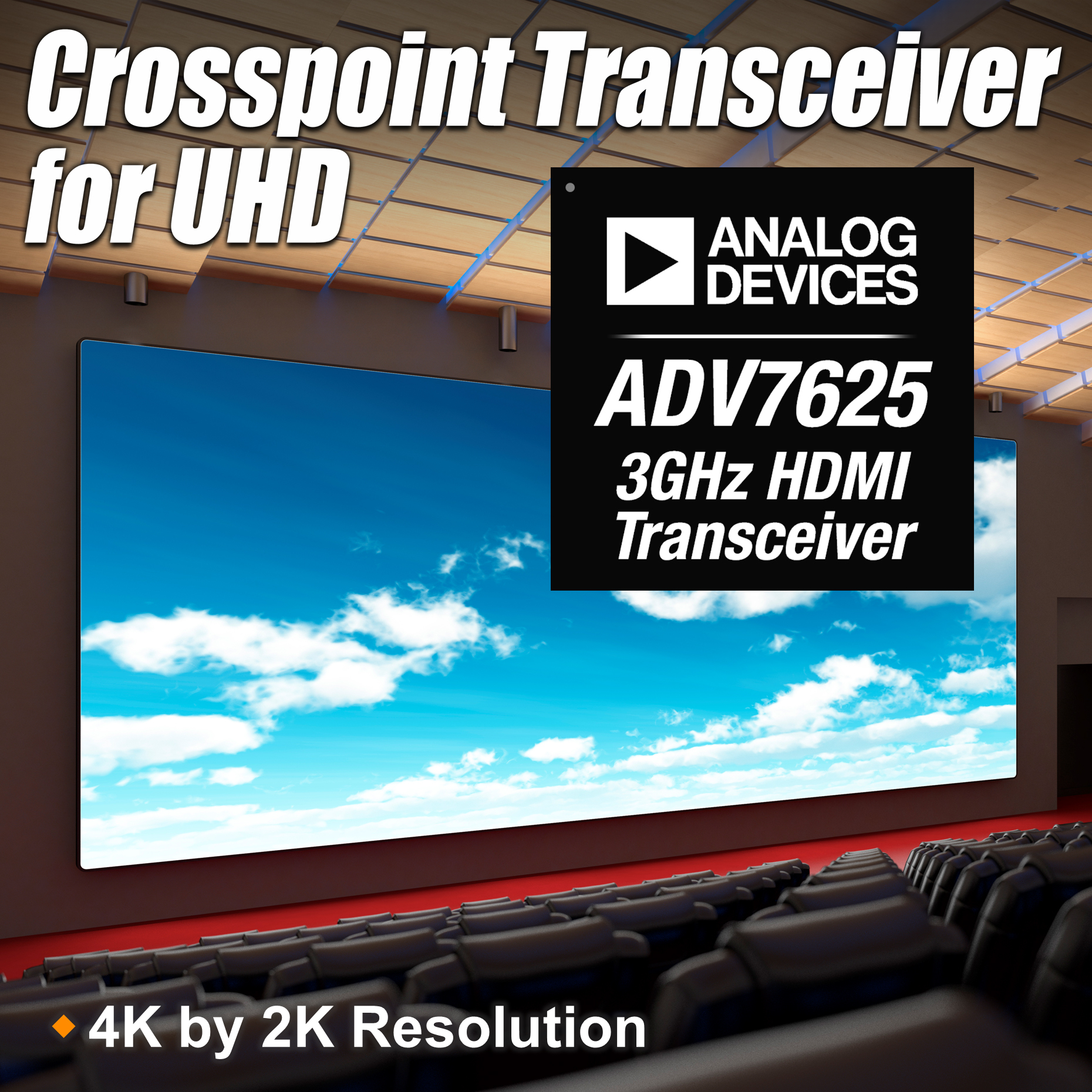 Crosspoint Transceivers Distribute Wide Range of Ultra-High