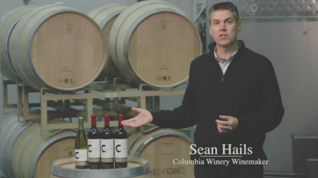 A message from Columbia winemaker.