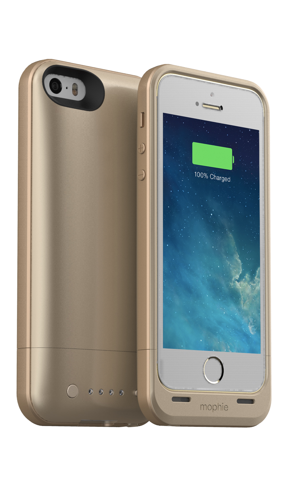 mophie juice pack air in Gold (Photo: Business Wire)