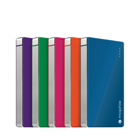 mophie powerstation in colors (Photo: Business Wire)