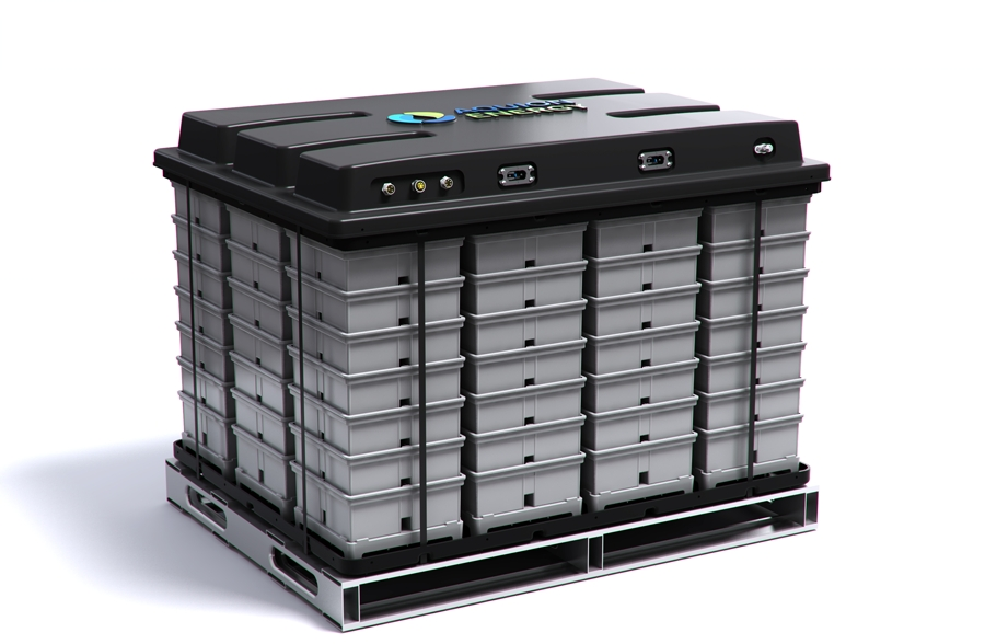 Aquion Energy's 18 kWh M100 Battery Module (Photo: Business Wire)