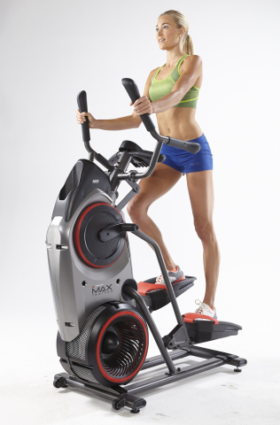 The Bowflex MAX Trainer(TM) features a 14-minute, full-body interval training program (Photo: Busine ...