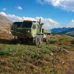 The next-generation Oshkosh MSVS SMP solution is designed to bring the latest ground vehicle technologies to the Canadian Armed Forces for a full range of logistics missions, from disaster recovery at home to major conflicts abroad. (Photo: Oshkosh Defense)