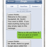 Zingle business texting for Loews Vanderbilt Hotel (Photo: Business Wire)