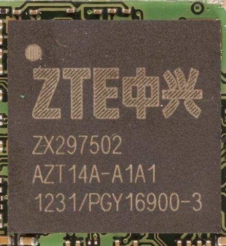 ZTE ZX297502 (Photo: Business Wire)
