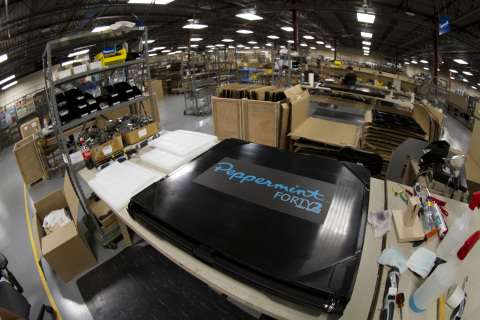 Peppermint Energy headquartered in Sioux Falls, S.D. produces portable, plug-and-play solar generators. (Photo: Stratasys)