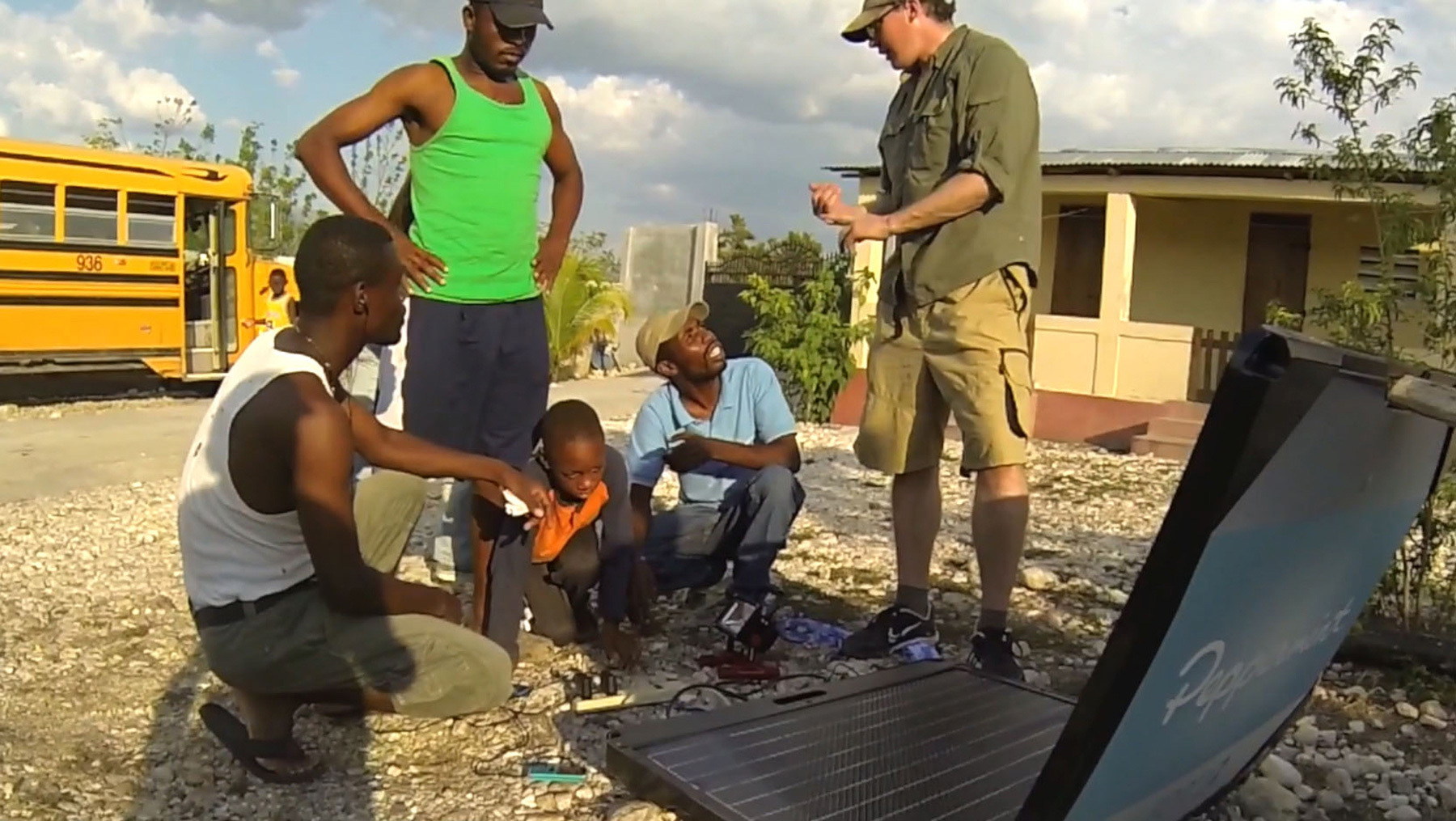 The FORTY2 brings reliable electricity to developing areas around the world including Haiti. (Photo: Stratasys)