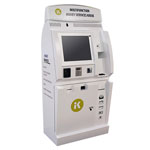 KIOSK's In-Store Multifunction Money Services Solution (Photo: Business Wire)