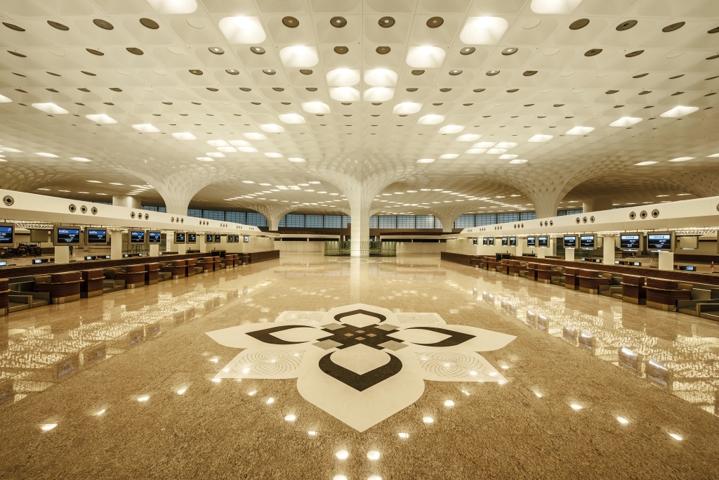 T2 terminal, Mumbai International airport, CraftCanvas, handicraft flooring