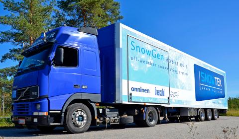 SnowGen mobile unit (Photo: Business Wire)