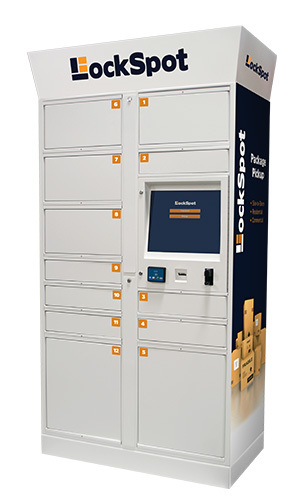 KIOSK's LockSpot Locker (Photo: Business Wire)
