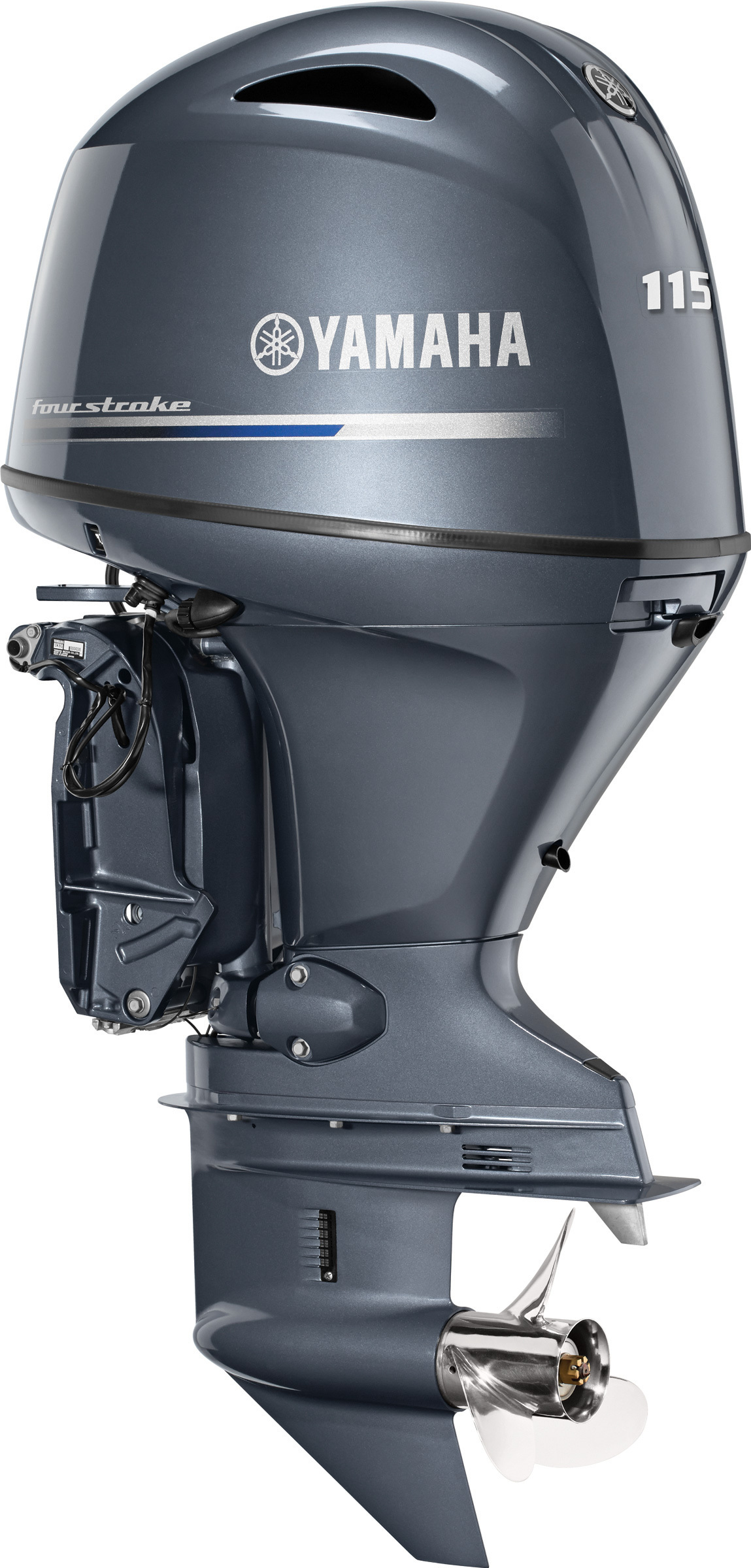 More New Outboard News: Yamaha F115 is Lighter, Quieter ...